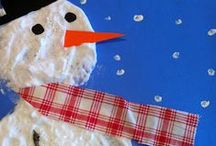 Winter teheme kindergarten / christmas, kids, diy, kindergarden, gifts, decoration