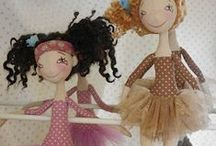 dolls & toys / by Colleen Mostert
