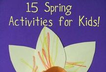 spring theme in kindergarten