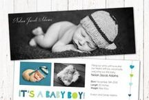 Custom Birth Announcements