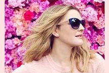 EYEWEAR / Exclusive FLOWER Eyewear Collection from Drew Barrymore featuring sunglasses and prescription eyeglasses.