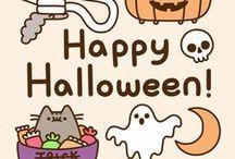 Halloween / #trickortreat #pumpkins #halloween #ghosts #night #witches