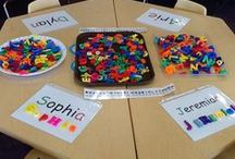 Montessori : Langage / Langage, alphabet, phonologie, écriture, manipulation...