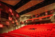 theaters / theater architecture, theater interiors, theatres, theatre, stage, music, dance, public
