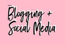 Blogging + Social Media / Blogging + social media tips for content creators