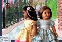 Doll Clothes Patterns / by Willow and Darrion