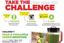 #VersaChallenge / Take the Oster Versa 1100 Challenge!  Each month, enter our challenge by taking a picture of our featured recipe and sharing on Instagram with the hashtag #VersaChallenge for your opportunity to win 1 of 3 $200 Walmart gift cards! http://bit.ly/1nxfxkH