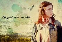 "The Girl Who Waited / ""Come along, Pond."" ""Amelia Pond, like a name in a fairytale."" ""Together, or not at all."""