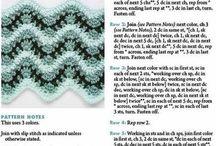 Uncinetto Crochet / Punti, schemi e tutorial video all'uncinetto