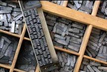 Typografia, písmo, tlač