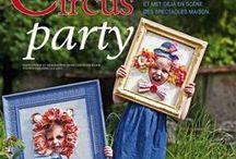 Circus Party Ideas / Ideas para un cumpleaños con tematica circense. Ideas for a birthday with circus theme.