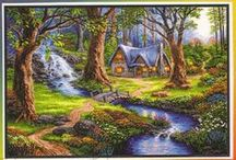 COTTAGE IN THE FOREST