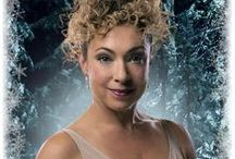 "The Doctor's Wife / Melody Pond, Mels Zucker, River Song.  ""Hello, Sweetie."" ""Spoilers."" ""The only water in the forest is the river."""