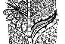 INS rotulador negro y color