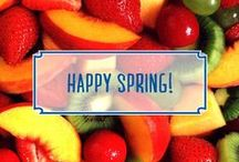 Spring Classics / Make it fresh with Oster® Kitchen's favorite recipes for spring!