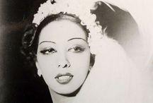 JOSEPHINE.BAKER / French-amerikan dancer, singer, actress.