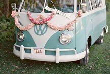 - Roues & klaxon - / Les voitures pour le mariage et leur décoration.