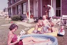 ❀ Vintage photos in colour ❀ / Coloured vintage photos. Because the world has never been black and white! #50s #1950 #40s #1940