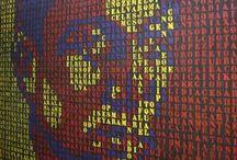Murales de San Isidro - Los mil nombres de Miguel y comisariado / Participación como comisario, diseñador y muralista en los actos de homenaje a Miguel Hernández en el barrio de San Isidro de Orihuela (Alicante) 2013