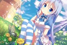 ❣ Anime lolis ❣ / #anime girls #hentai #ecchi #lolicon #cute  #sweet #kawaii #sexy #lolita