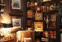 Living Room/Library / by Linda Lowe