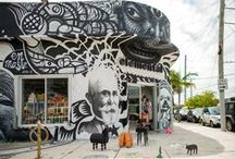 the walls around us / a little bit of our local street art culture @wynwood