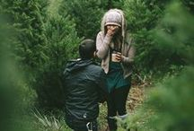Engagement Shoot Ideas / Gorgeously styled engagement shoots & photography.