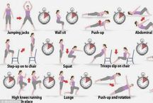 exercise routines / by Kimmie Young