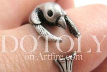 baby animal jewelry / by Amy Burgess