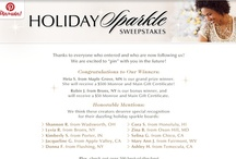 2013 Sparkling Holidays / We know ladies like to Sparkle and we are so inspired with our Sweepstakes Entries! Let's collect the best of the best on this board. It's for YOU to re-pin your Monroe and Main favorites from our boards or any other sparkling pins you'd like to share. Have fun! www.monroeandmain.com / by Monroe and Main