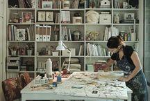 Studio/office space / by Hope*is
