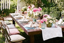 tea party for jeri and lannete / by Linda Georgeadis