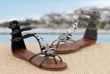 Pedi-Perfect Sandals / Go ahead and get your pedicure on, spring is here and it's time to break out the sandals with your favorite capris, maxi dresses and skirts. Follow Monroe and Main for more fabulous footwear.