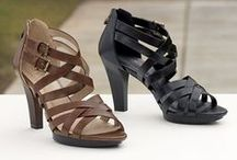 If the Shoe Fits / The perfect shoe or boot is the best way to pull a look together. That's why we offer lines of casual, dressy, and work shoes & boots to meet all of your styling needs. Our shoes and boots are feminine and comfortable with a touch of unique styling to complete your look this season. Follow us if you're a shoe lover!