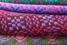 Woven and colour