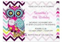 2nd Birthday!  / #Birthday #owl #2ndbirthday #littlegirl #cute #pink #teal #creative #banner #owlinvitation / by Tammy Naivar