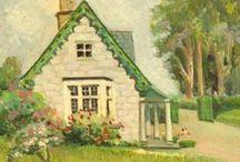 Cottage: Seafoam Green