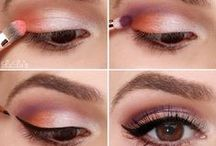 Eye Glamour / Eye makeup inspirations and tips! Learn how to blend multiple colors to enhance your look for a night on the town or use subtle shades for a fresh day time look.