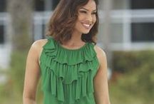 Green With Envy / Like the summer grass or a holiday wreath, green is a color that appeals year-round