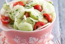 Salads, fruits, dips, etc. recipes