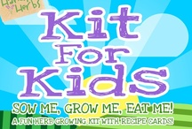 Herb Kit For Kids / Kits For Kids is an exciting way for children to learn to love growing and cooking with herbs while having fun with Charlie and his friends.  Handy Herbs Kit For Kids includes everything a child will need to successfully grow and develop an interest in herbs.  Also included are recipe cards so children can use what they have grown. The fun herb characters will appeal to children of all ages. www.handy-herbs.co.uk