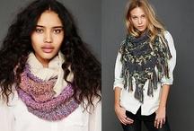Des écharpes / Beautiful Fashion Scarves #scarf #scarves #echarpes / by Linda Bankston