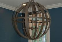 Lighting / Lights create an mode for any room-whether interior or exterior.
