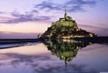 Mont St. Michel, France / by Living With Joie De Vivre
