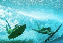 Underwater / The most refreshing view on the sea, beneath the waves and underwater reminiscent of the smell of summer