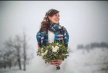 Winter Wedding / A collection of winter wedding floral.