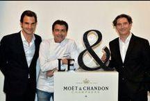 Moët & Chandon et Yannick Alléno / Moët & Chandon France et Yannick Alléno ont l'honneur d'annoncer leur partenariat...  Le restaurant éphémère le & à Epernay pour des accords mets & champagne.