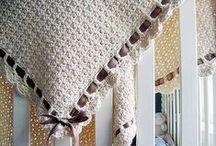 szydełkowanie/crochet - pledy/blankets
