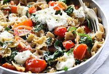 Pasta / Lots of pasta... how to make it and cook it.