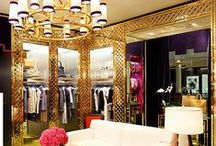Wardrobes / The dream of every woman, dream of your clothes, shoes, accessories, bags and all the fashion empire